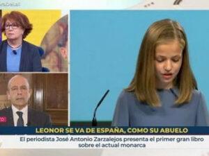 Destitucions fulminants a RTVE per un rètol de la princesa Leonor