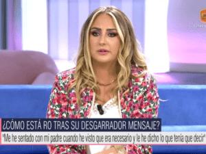 "Read more about the article <span>RELATS ENFRONTATS</span> Rocío Flores a la seva mare: ""Que digui el que vulgui"""