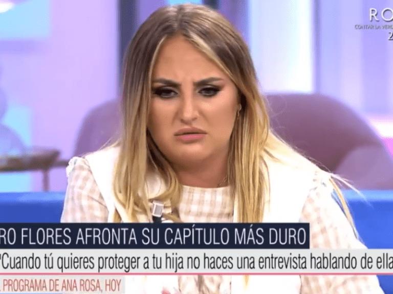 """Read more about the article <span>RESPOSTA DESAFIANT</span> Rocío Flores esclata i repta a la seva mare: """"Que posin el capítol complet"""""""