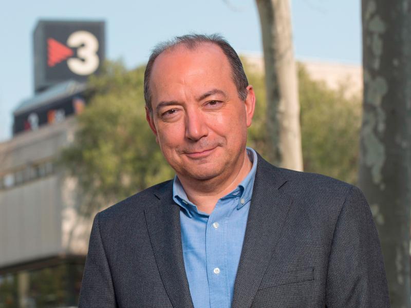 """<span>ENTREVISTA </span> Vicent Sanchis: """"TV3 és líder per què ho fem bé i millor que les altres cadenes"""""""