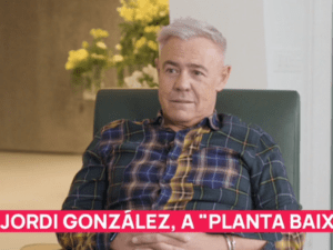 """<span>CONVERSA SINCERA</span> Jordi González va a TV3 i es confessa: """"Vaig perdre la meitat dels meus estalvis en una setmana"""""""
