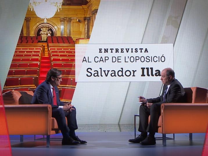 You are currently viewing L'entrevista a Salvador Illa enfonsa TV3 a un 6,6%
