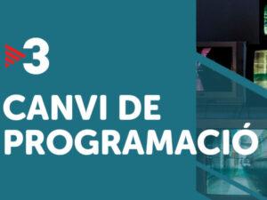 Read more about the article Revolució a la graella de TV3