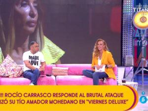 Read more about the article <span>FITXATGE ESTRELLA</span> Preocupació a Tele 5 per la baixa audiència de Rocío Carrasco a 'Sálvame'