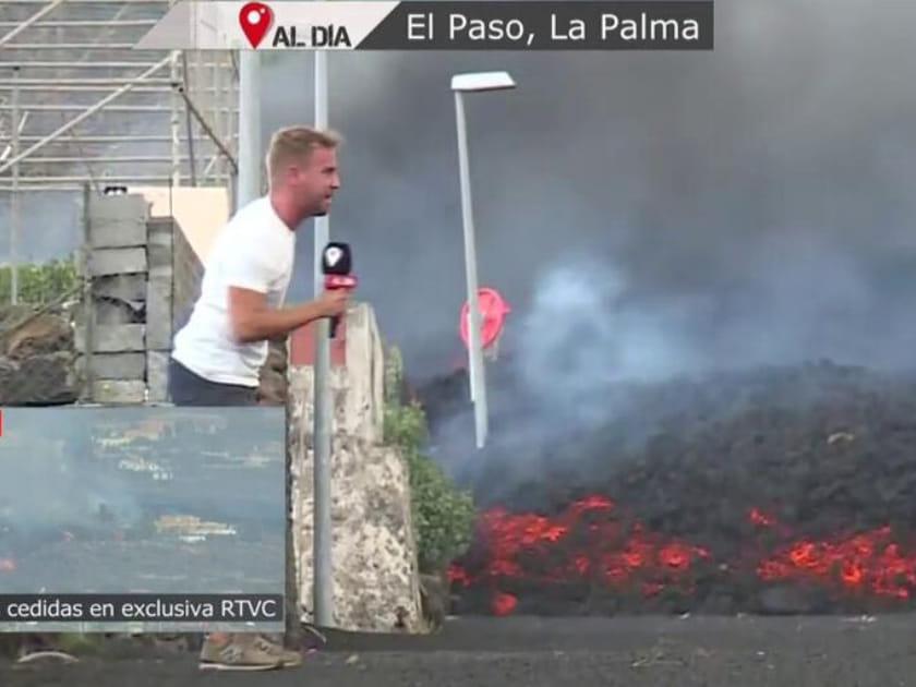 You are currently viewing <span>TOT PER AUDIÈNCIA?</span> Així informen les televisions sobre el volcà de La Palma amb polèmica inclosa