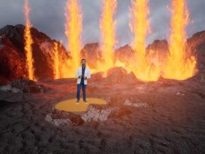Read more about the article <span>ERUPCIÓ VIRTUAL</span> La TV canària impacta amb la seva espectacular cobertura del volcà