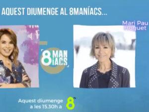 Read more about the article <span>QUÈ VA PASSAR?</span> Mari Pau Huguet explica a 8TV el motiu real de la seva desaparició de TV3