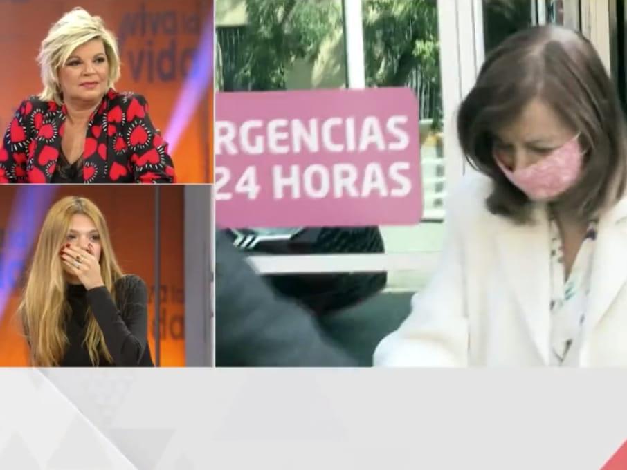 You are currently viewing <span>SITUACIÓ INCÒMODA</span> Tele 5 emet unes imatges de María Teresa Campos molt desmillorada i la família diu prou